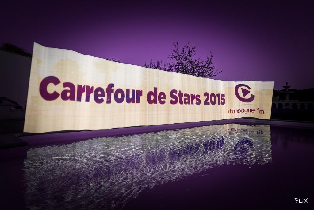 Bandeau pour réalisé la promotion du Carrefour de Star de Champagne FM